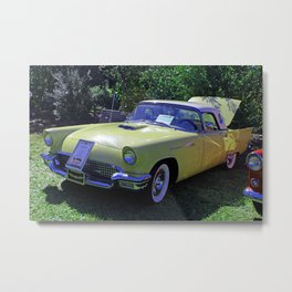 Lemon Thunderbird Metal Print