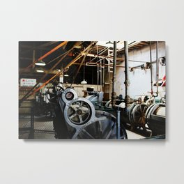 Clean the Blood of your Clothes Metal Print
