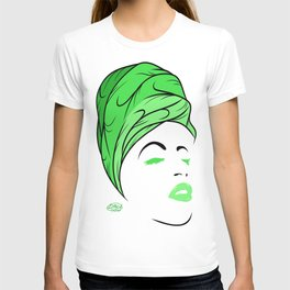 Lady Wrap (green) T-shirt