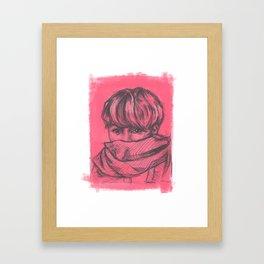 Jimin BTS Framed Art Print