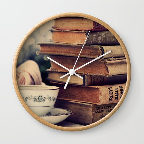 The Best Companions Wall Clock by Tangerine Tane