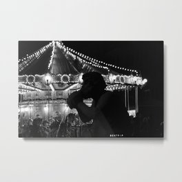 The Guardian Of Navona Place Metal Print
