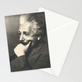 Albert Einstein rare photo Stationery Cards