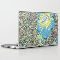 fairies Laptop & iPad Skins featuring Fairies by David Domike