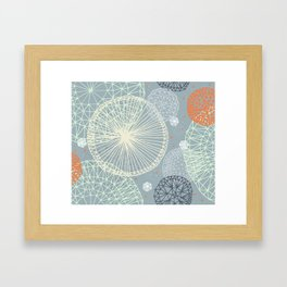 Geodesic by Friztin Framed Art Print