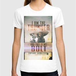 Thunderbolt Movie-I Am The Thunder Version 2 T-shirt