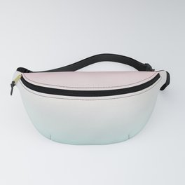 Pastel Ombre Millennial Pink Mint Gradient Fanny Pack