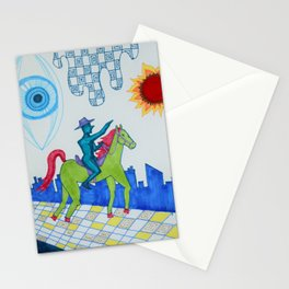 Lone Quixote Stationery Cards