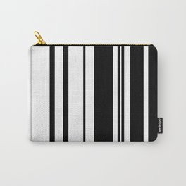 Black and white stripes 1 Carry-All Pouch