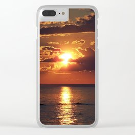 Nature's Beauty Unleashed Clear iPhone Case