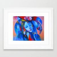 ruben Framed Art Prints featuring ruben 01 by  Alexandra's Collection