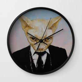 Mister Cat Wall Clock