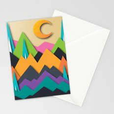 The Glass Mountains Stationery Cards