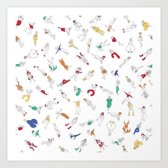 Bowies Art Print