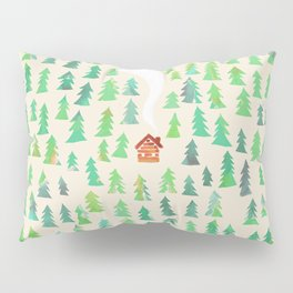 Alone in the woods Pillow Sham