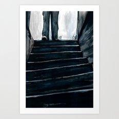The Basement Bloody Reeks Art Print