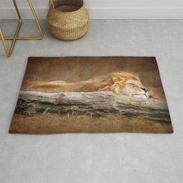 Sleeping Lion Rug