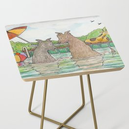Pool Party Side Table