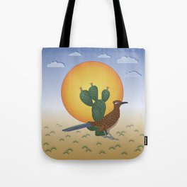 Soul of the Southwest - Roadrunner in the Desert Tote Bag