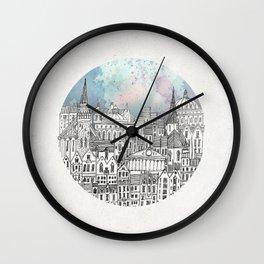 Abandoned Factories Wall Clock
