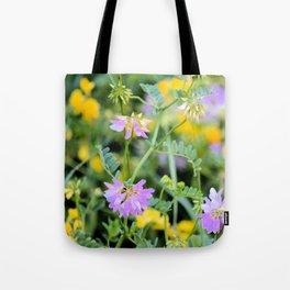 Roadside Bouquet Tote Bag