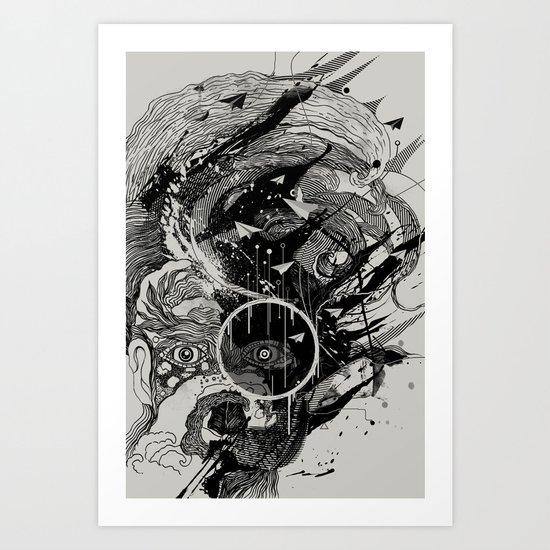 W.A.V.E. Art Print