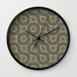 Round Truchets in CMR 01 Wall Clock