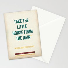 The Little horse Stationery Cards