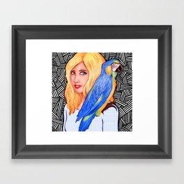 Flock Together Framed Art Print