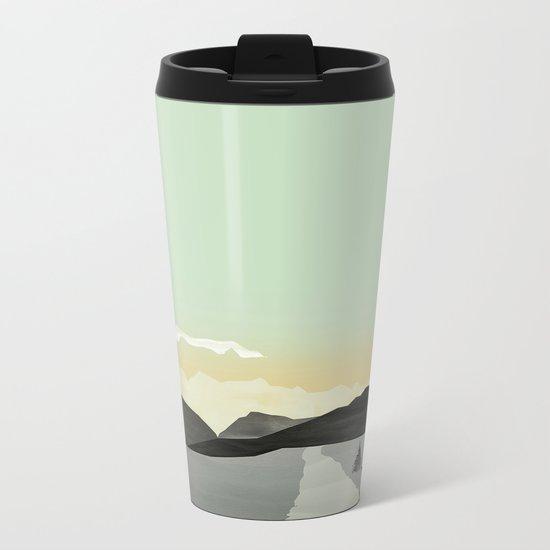 Misty Mountain II Metal Travel Mug
