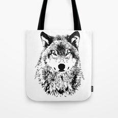 Wolf Eyes Tote Bag
