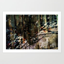 Snow Borne Sorrow Art Print