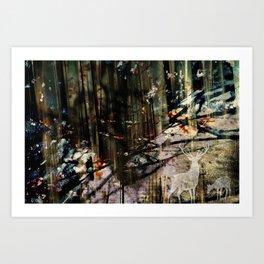 Snow Borne Sorrow Art Print