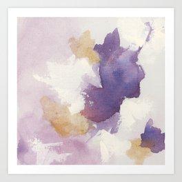 Dark Violet 1 Art Print