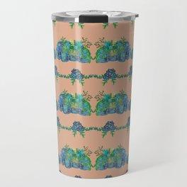 Large Succulent Elephant Family Travel Mug