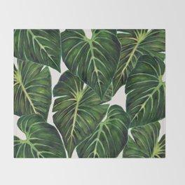 Tropical II Throw Blanket