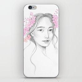 Japanese Cherry Blossom iPhone Skin