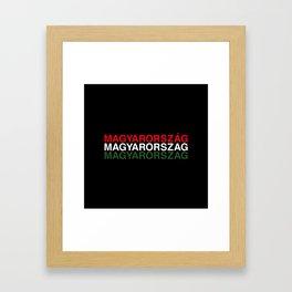 HUNGARY Framed Art Print