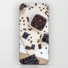 chocolate and coffee iPhone & iPod Skin