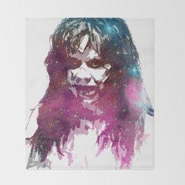 Galaxy Linda Blair Regan MacNeil The Exorcist Throw Blanket