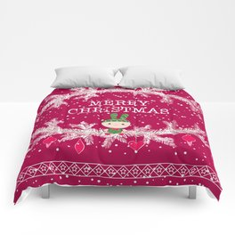 Merry christmas and happy new year 12 Comforters