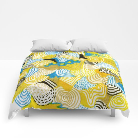 Life is good Comforters