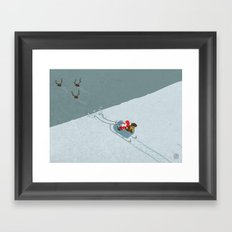 Xmas 2013 Framed Art Print