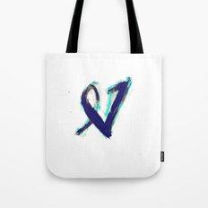 Paintbrush Heart Tote Bag