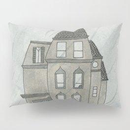Gloomy Mansion from Kayla's Spanish Storybook Pillow Sham
