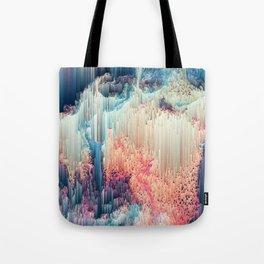 Fairyland - Abstract Glitchy Pixel Art Tote Bag