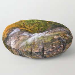Autumn Stream Floor Pillow