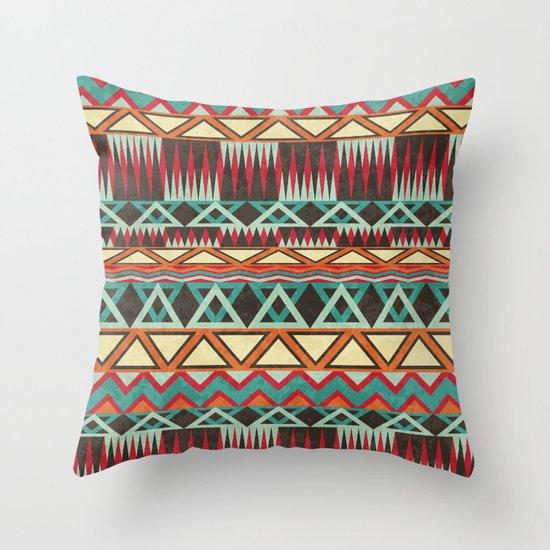 Native. Throw Pillow