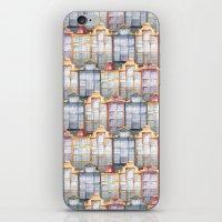 amsterdam iPhone & iPod Skins featuring  Amsterdam by Julia Badeeva