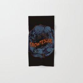 Crowtesque Logo Hand & Bath Towel